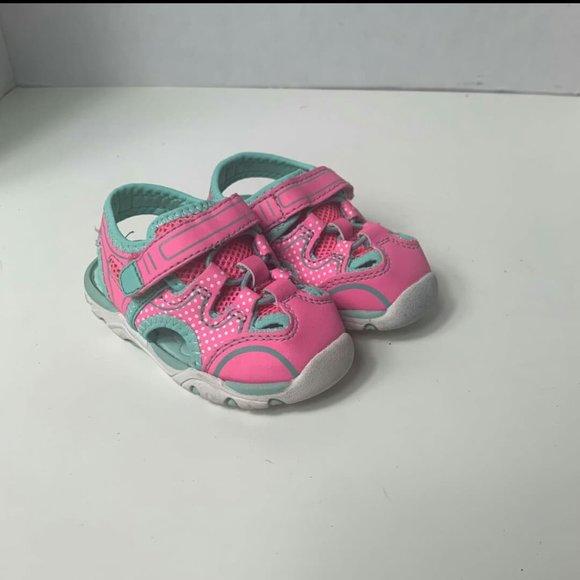 Wonderworks Girls Pink Water Size 4